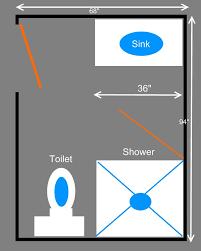 small bathroom floor plans with corner shower. Unique Small Bathroom Floor Plans With Minimalist Design Using Toilet Sink Near Shower Area Corner W