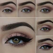 beauty makeup step by step eyeshadow look