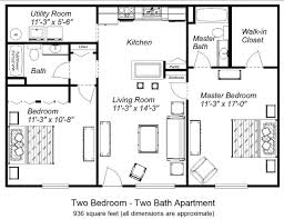 Apartment Floor Plans at Arden Place Apartments