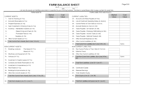 Line Notes Template Download Farm Balance Sheet Template Excel Pdf Rtf Word