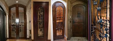 home wine room lighting effect. Custom Wine Cellar Doors Home Room Lighting Effect