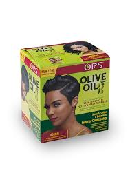 ors olive oil no lye hair relaxer for