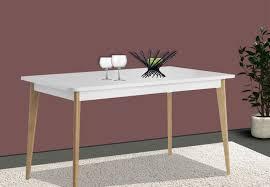 Esstisch Küchentisch Holztisch 140x75cm Ausziehbar Weiß