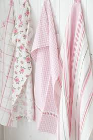 Pastel Kitchen Towels From IKEA Shabby Chic Pink