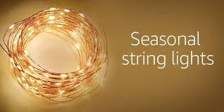lighting pic. seasonal string lights lighting pic