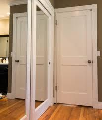 Mirror Closet Doors For Bedrooms Bi Fold Closet Door Mirrored Sliding Closet Doors New York
