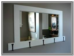 Wall Coat Rack With Mirror Impressive Mirror Coat Rack Entryway Ikea Mirror Coat Rack Facundopoj