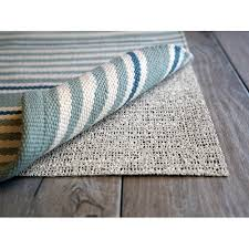 natural rubber non slip rug pad