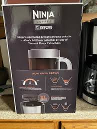 The delay brew function can be programmed to have hot coffee waiting for you when you wake up. Pay Less Super Markets Ninja Programmable Coffee Brewer Black Silver 12 C