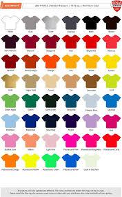 Siser Color Chart Siser Color Guide
