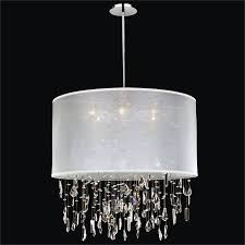 large drum shade chandelier around town 005md27sp w 3c
