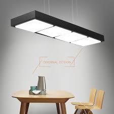 office pendant light. Modern Fashion LED Office Pendant Lights Minimalist White Black Lamp Dining Room Kitchen Hanging Light