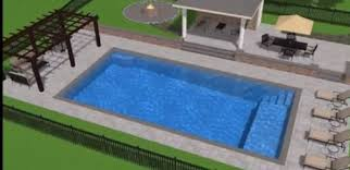 Rectangle pool Above Ground Simple Modern Rectangle Pool With Pergola Pinterest Simple Modern Rectangle Pool With Pergola Outdoor Living