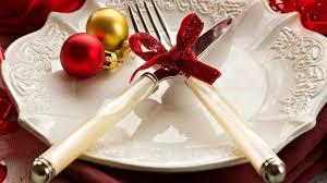Christmas Table Setting Christmas Table Setting Walldevil