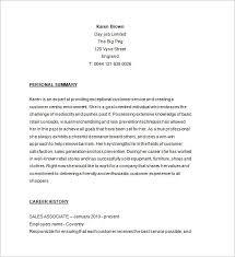 Forever 21 Sales Associate Sample Resume Env 1198748