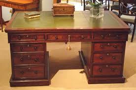 antique desk furniture uk. antique mahogany partners desk furniture uk t