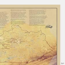 kentucky bourbon trail distillers map