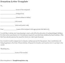 Request For Donation Letter Template Free Gdyinglun Com