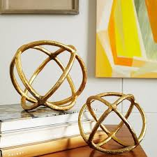 Decorative Balls Next Sculptural Spheres west elm 48