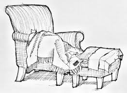 comfy chair drawing.  Comfy Chair Sketch For Comfy Drawing N