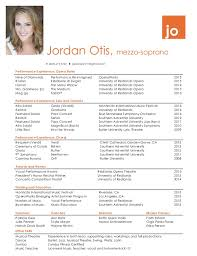 Performance Resume Extraordinary Performance Resume Jordan Otis