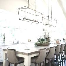 pendant lights for dining room table glass metal cage pendant how high to hang light fixture