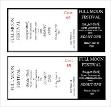 Fundraiser Tickets Template Free Elegant Free Printable Raffle