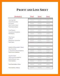 Statement Of Profit And Loss 11 Free Printable Profit And Loss Statement St Columbaretreat House