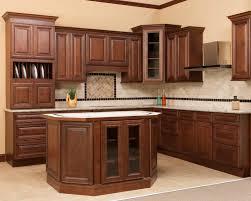 Kitchen Cabinet Display Display Kitchen Cabinets Saddle Glaze Ready To Assemble Kitchen