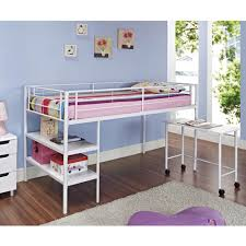 full image for charleston storage loft bed with desk weight limit 57 white twin loft bed