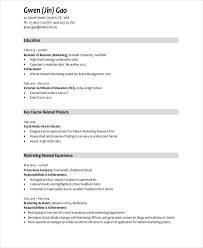 Achievements In Resume Examples For Freshers - Examples Of Resumes