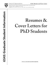 Resume Sample Harvard University   Templates
