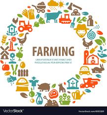 Farm Logo Design Template Farming Harvest