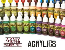 Review The Army Painter Warpaints 1 Acrylic Paints