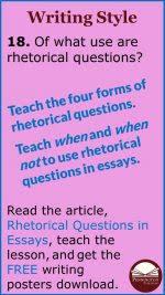 Rhetorical Questions In Essays Pennington Publishing Blog