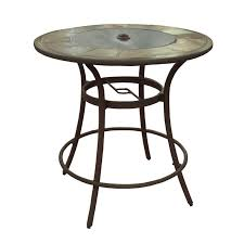 allen roth safford 40 in w x 40 in l round bar table