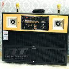 Loa Kéo 2 Bass Đôi 4 tấc - Loa karaoke di động công suất lớn bass đôi 4 tấc  gỗ thật cao cấp [ CÓ VIDEO TEST LOA ]