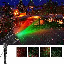 Laser Light Projector Suaoki Outdoor Laser Light Red Green Star Projector