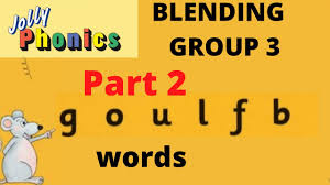 Jolly phonics blending group 3 | sounding, blending, reading, goulfb words ukg lkg grade 1. Jolly Phonics Blending Group 3 Sounding Blending Reading Goulfb Words Ukg Lkg Grade 1 Part 2 Youtube