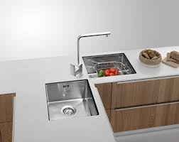 erfly corner stainless steel kitchen sink hand made double bowl under mount