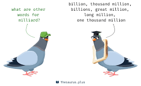 Words Billion and Milliard are semantically related or have similar ...