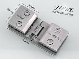 glass clips for cabinet doors stainless steel casting glass door hinge cupboard door clip display cabinet