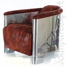 brass and metal furniture. Aviator Vintage Leather Sofa Arm Chair Brass And Metal Furniture