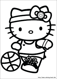 Hello Kitty Coloring Pages Online Nlchamberinfo