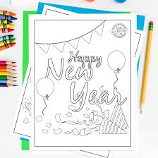 Coloring pages holidays nature worksheets color online kids games. 21 Awesome Free New Year S Printables For Kids Kids Activities Blog