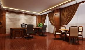 interior design for office. remarkable simple european office interior design with wooden flooring in dark brown color and tie back for