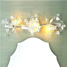shabby chic bathroom lighting. Shabby Chic Light Fixtures Lighting Crystal Flowers Bath In White Gold Or Bronze For Bathroom A