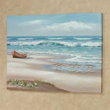 simple life canvas wall art multi cool on coastal life canvas wall art with simple life ocean scene coastal canvas wall art