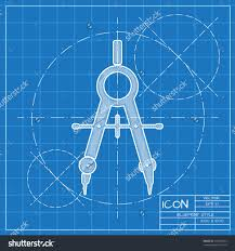 architecture design blueprint. Design Architecture Large-size Vector Blueprint Compasses Icon Engineer And Architect Save To A Lightbox.