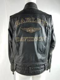 obsolete harley davidson limited edition 110th anniversary mens leather jacket
